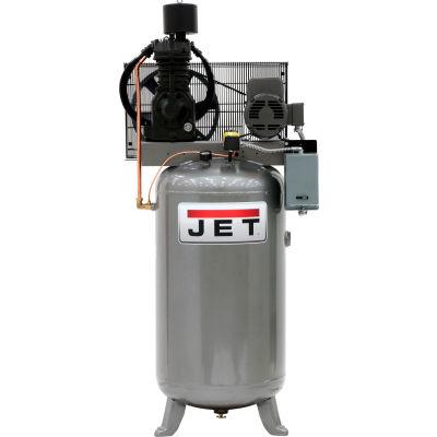 JET JCP-803, 80 Gallon,7.5 HP, Vertical Air Compressor 230V, 1Ph