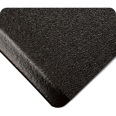 """Wearwell® SubStance Pebble Anti Fatigue Mat 1/2"""" Thick 2' x 3' Black"""