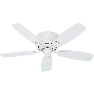 """Hunter Fan Sea Wind® 48"""" Damp Ceiling Fan 53119 - White"""