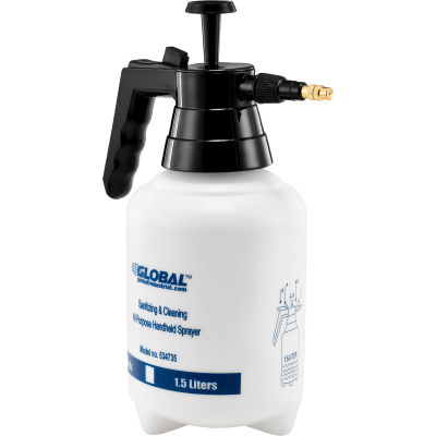 Global Industrial™ Sanitizing & Cleaning All Purpose Handheld Sprayer, 1.5 Liter Capacity