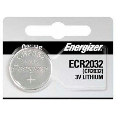Energizer ECR2032 3.0V Miniature Lithium Battery - Pkg Qty 10