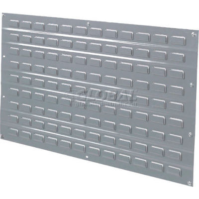 """Louvered Wall Panel Without Bins 48""""W x 61""""H"""
