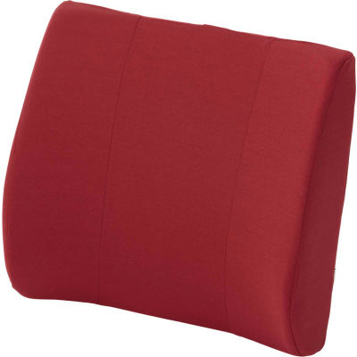 DMI® Relax-a-Bac™ Lumbar Back Cushion with Insert and Strap, Burgundy