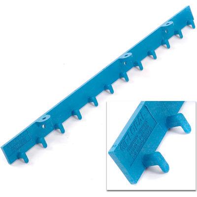 Global Industrial™ 8'L Standard Strip Curtain Door Mounting Bracket Kit - (4) 2' Sections