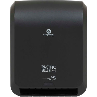 GP Pacific Blue Ultra Black Automated Roll Paper Towel Dispenser - 59590