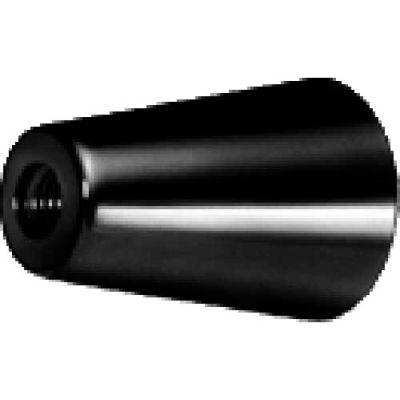 J.W. Winco GN419 Phenolic Tapered Knob W/Molded-In Thread 20mm Diameter 30mm Length M5x.8