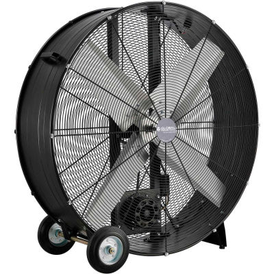 "Global Industrial™ 42"" Drum Blower Fan - Portable - Belt Drive - 17600 CFM - 1 HP"