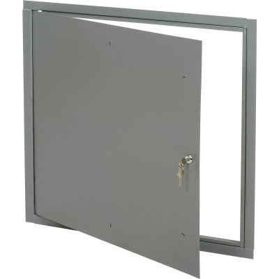 "Global Industrial™ Multi Purpose Metal Access Panel, Key Lock, 24""W x 24""H"