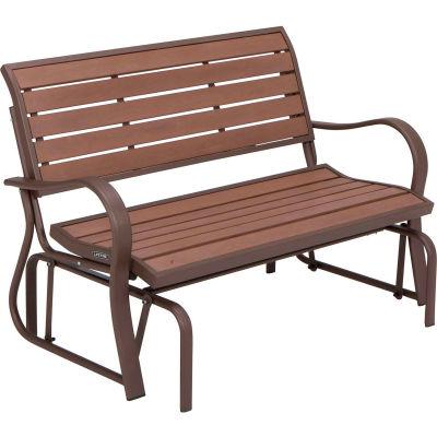Lifetime® Mocha Brown Glider Bench
