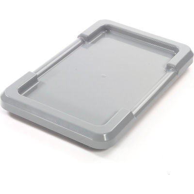 Gray Lid For Cross Stack And Nest Tote TUB2516-8 - Pkg Qty 6