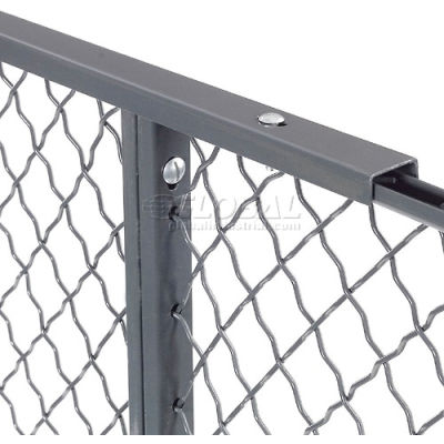 Global Industrial™ 10' Top Capping For Wire Mesh Partition