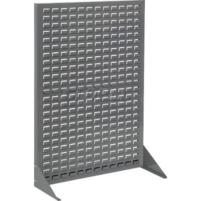 Global Industrial™ Single-Sided Floor Rack Without Bins 36 X 50