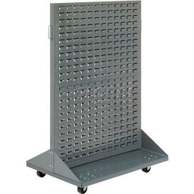 "Global Industrial™ Mobile Double-Sided Rack without Bins 36"" x 54"""