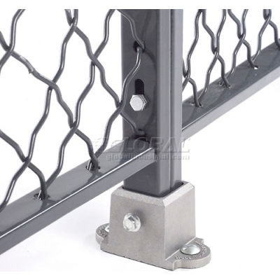 Global Industrial™ Floor Socket for Wire Mesh Partitions