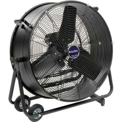"""24"""" Tilt Drum Blower Fan - Portable - Direct Drive - 7700 CFM - 1/3 HP"""