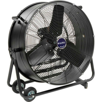 "Global Industrial™ 24"" Tilt Drum Blower Fan - Portable - Direct Drive - 7700 CFM - 1/3 HP"
