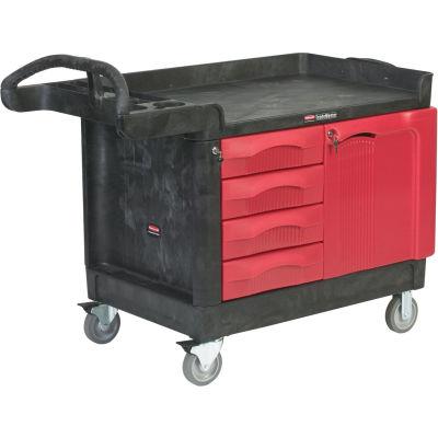 Rubbermaid® TradeMaster® 4533-88 1 Door - 4 Drawer 49x26 Workcenter