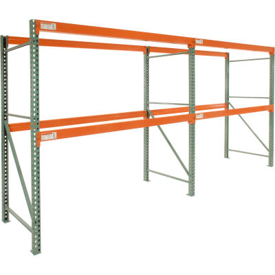 "Global Industrial™ Tear Drop Pallet Rack Add-On 96""W X 36""D X 96""H"