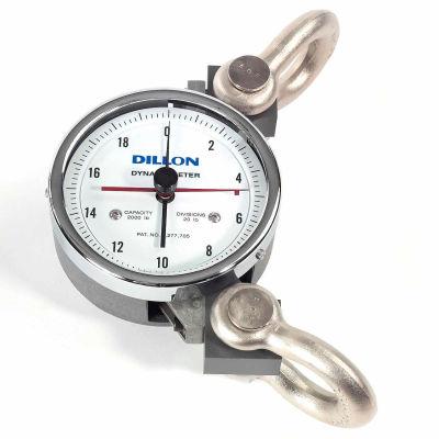 """Dillon AP Mechanical Dynamometer, 5"""" Dial, 2,000 lb x 20 lb"""