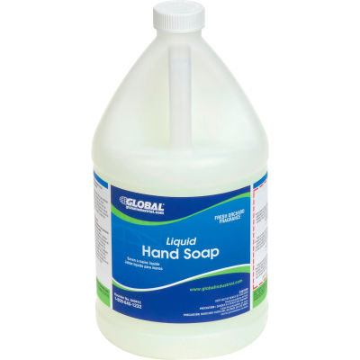 Global Industrial™ Liquid Hand Soap - Case Of Four 1 Gallon Bottles