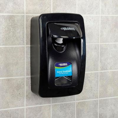 Global Industrial™ Manual Dispenser for Foam Hand Soap/Sanitizer - Black