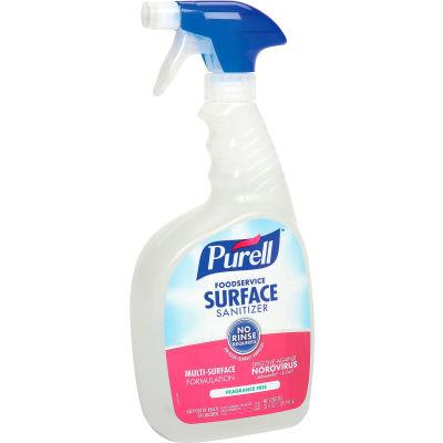 Purell Foodservice Surface Sanitizer, 32 oz. Trigger Spray Bottle, 3 Bottles/Case - 3341-03