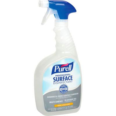 Purell Professional Surface Disinfectant, 32 oz. Trigger Spray Bottle, 3 Bottles/Case - 3342-03