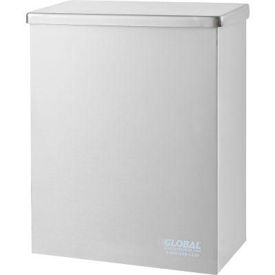 Global Industrial™ Sanitary Napkin Disposal - Stainless Steel
