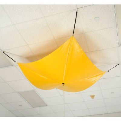 Global Industrial™ Leak Diverter 7' x 7' - Yellow