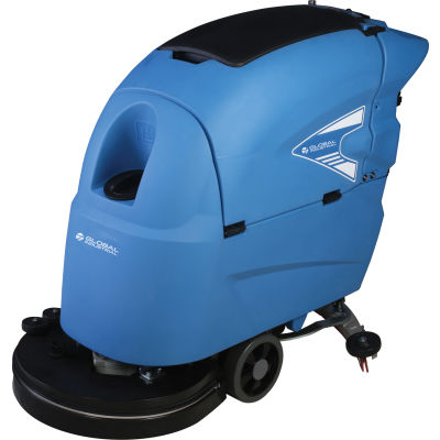 """Global Industrial™ Auto Floor Scrubber With Traction Drive, 20"""" Cleaning Path"""