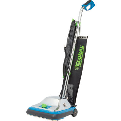"""Global Industrial™ Upright Vacuum, 12"""" Cleaning Path"""