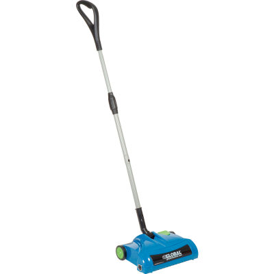 "Global Industrial™ Rechargeable Cordless Sweeper, 12"" Cleaning Path"