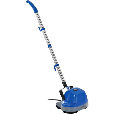 "Global Industrial™ Mini Floor Scrubber With Floor Pads, 11"" Cleaning Path"