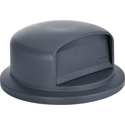 Global Industrial™ Plastic Trash Can Dome Lid - 55 Gallon Gray