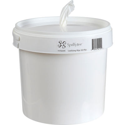 Spilfyter® Sanitizing Wipe Kit Plus, Bucket & Wipes Included