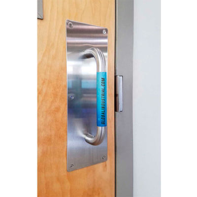 """Global Industrial™ V-Guard Constant Clean Antimicrobial Handle Film, 2-1/2"""" x 4-1/4"""", 10/Pack"""