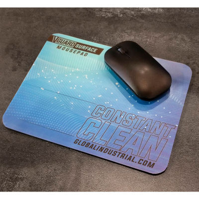 """Global Industrial™ V-Guard Constant Clean Antimicrobial Mousepad, 9"""" x 7"""", 5/Pack"""