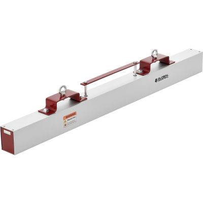 """Global Industrial™ Hang-Type Magnetic Sweeper With Forklift Hanger, 48""""W"""