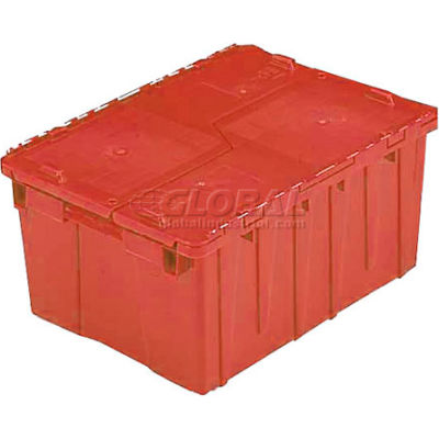 ORBIS Flipak® Distribution Container FP075 - 19-11/16 x 11-13/16 x 7-5/16 Red