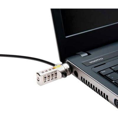 Kensington® 64673 Combination Laptop Lock with 6 ft. Cable, Black