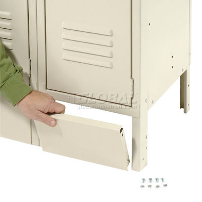 "Global Industrial™ Front Base For 12""W X 6""H Tan Locker"