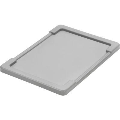 Quantum Lid LID2516-8 For 23-3/4x17-1/4 Gray - Pkg Qty 6