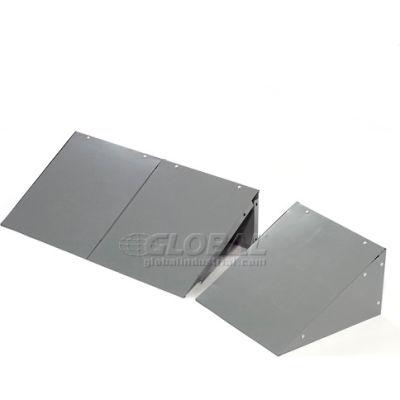 Global Industrial™ Locker Slope Top Kit 12x12 Gray