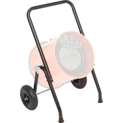 "Global Industrial® Cart Kit For Salamander Heater, 21-19/32""W x 38-1/2""H x 28""D"