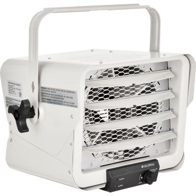 Global Industrial® Unit Heater, Horizontal Downflow, Multi-Watt, 5000-1881W, 208-240V