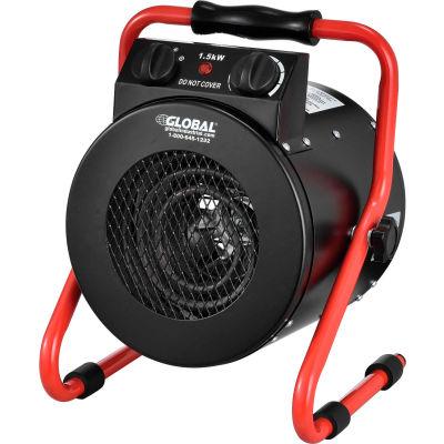Fahrenheat® Portable Electric Garage Space Heater, 120V, 1500W
