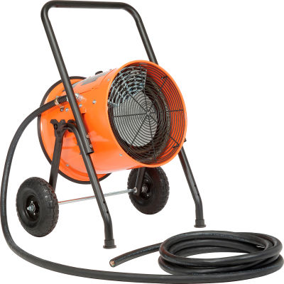 Global Industrial™ 15 KW Portable Electric Salamander Heater 240V, 1 Phase With 25'L Power Cord