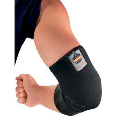 Ergodyne® Proflex® 655 Neoprene Elbow Sleeve with Strap, Black, XL