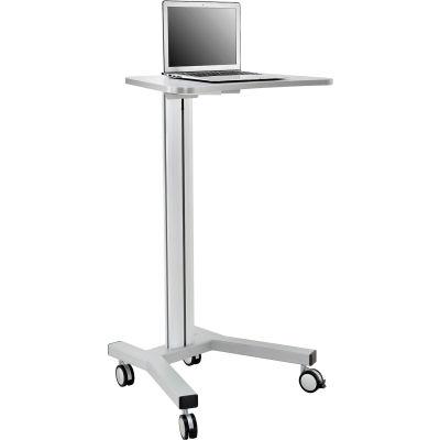 Global Industrial™ Mobile Height Adjustable Laptop Workstation