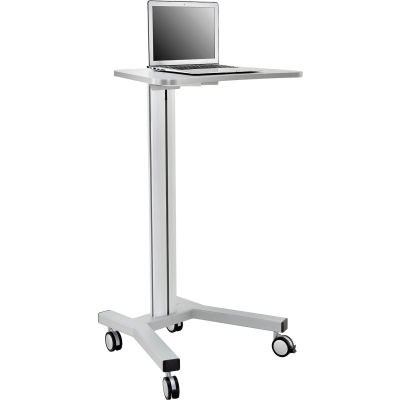 Global Industrial™ Mobile Height Adjustable Laptop Workstation